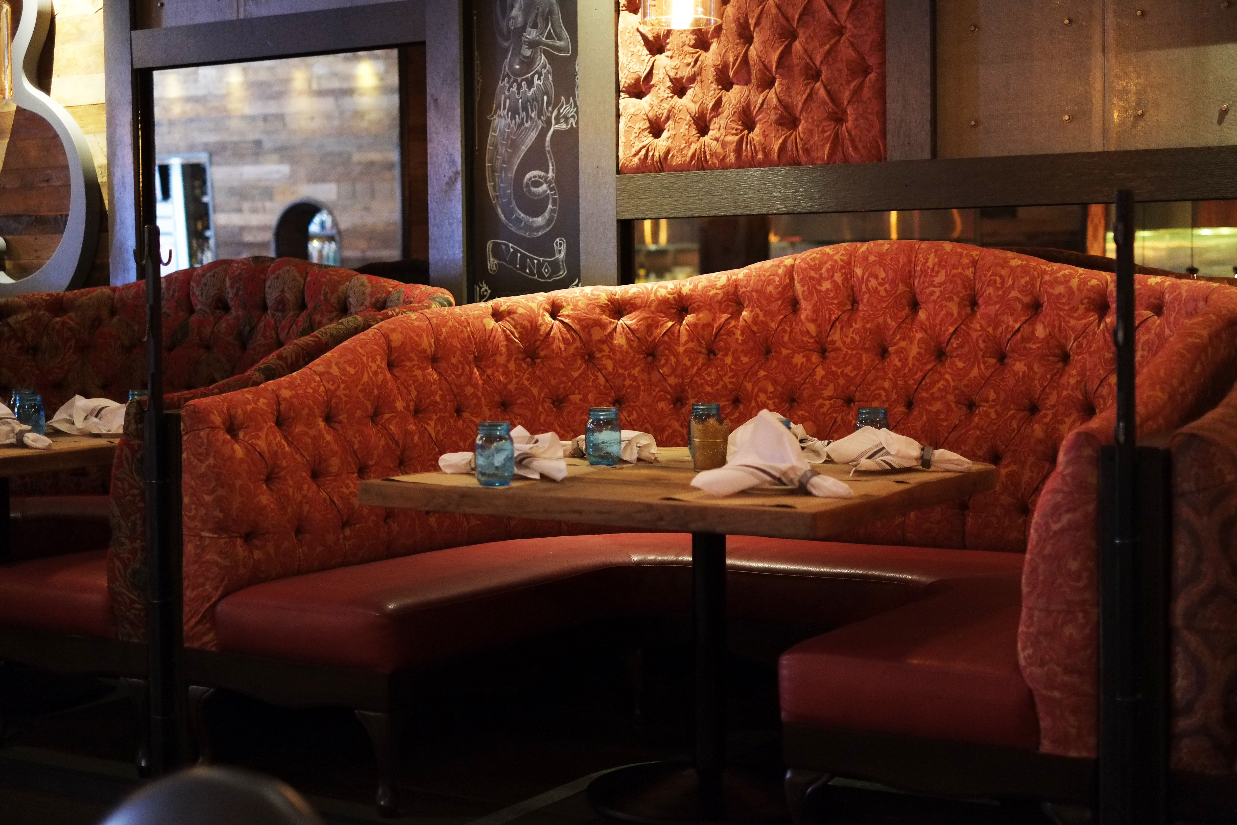 Design furniture restaurant lounge