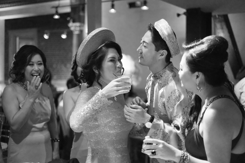 Scenes from Teresa and Koji s Lavish Loft Wedding – Haute Khuuture