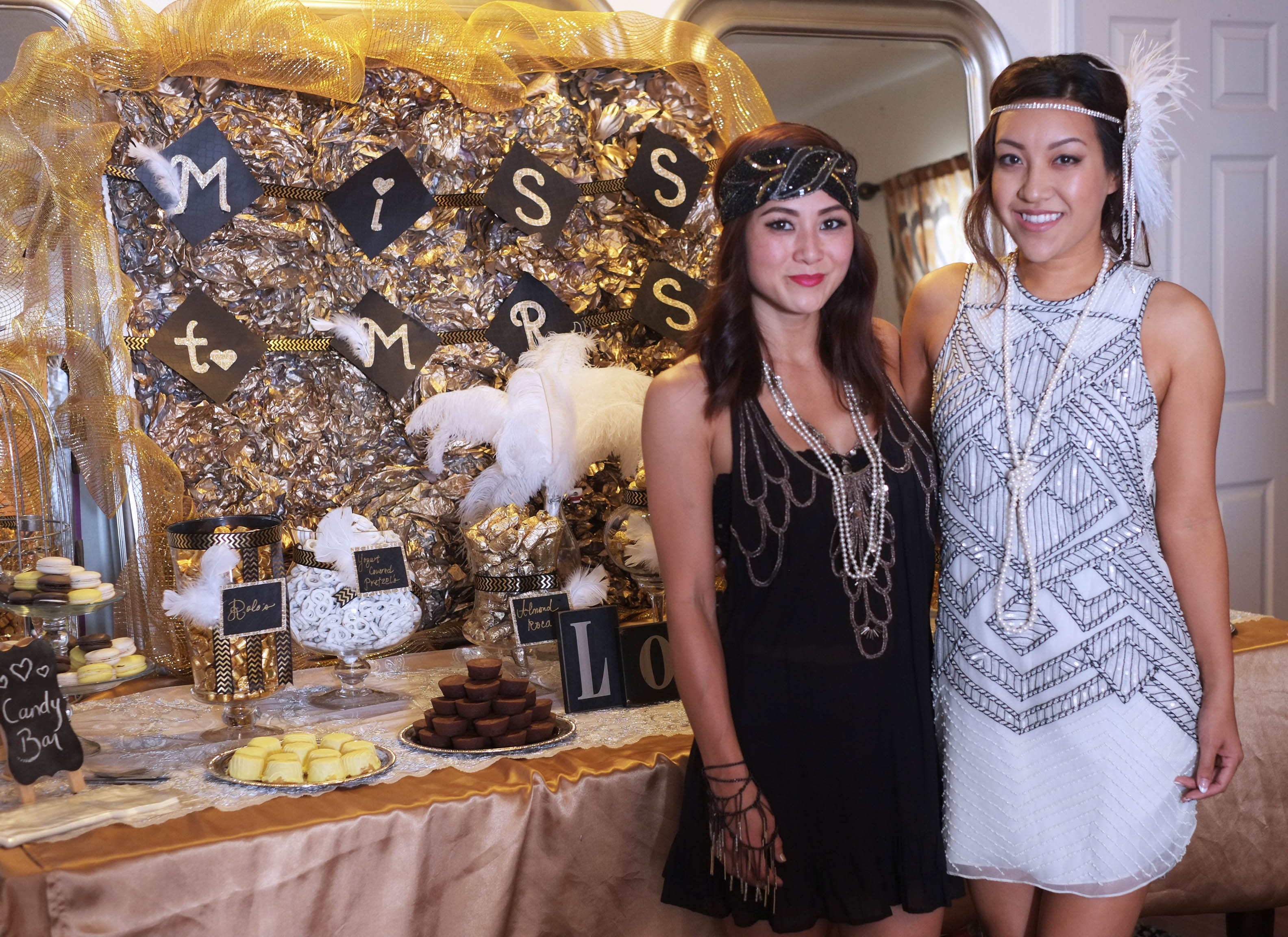 scenes from mimis gatsby bridal shower