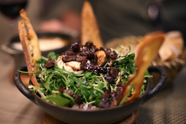 Salad crispy asian