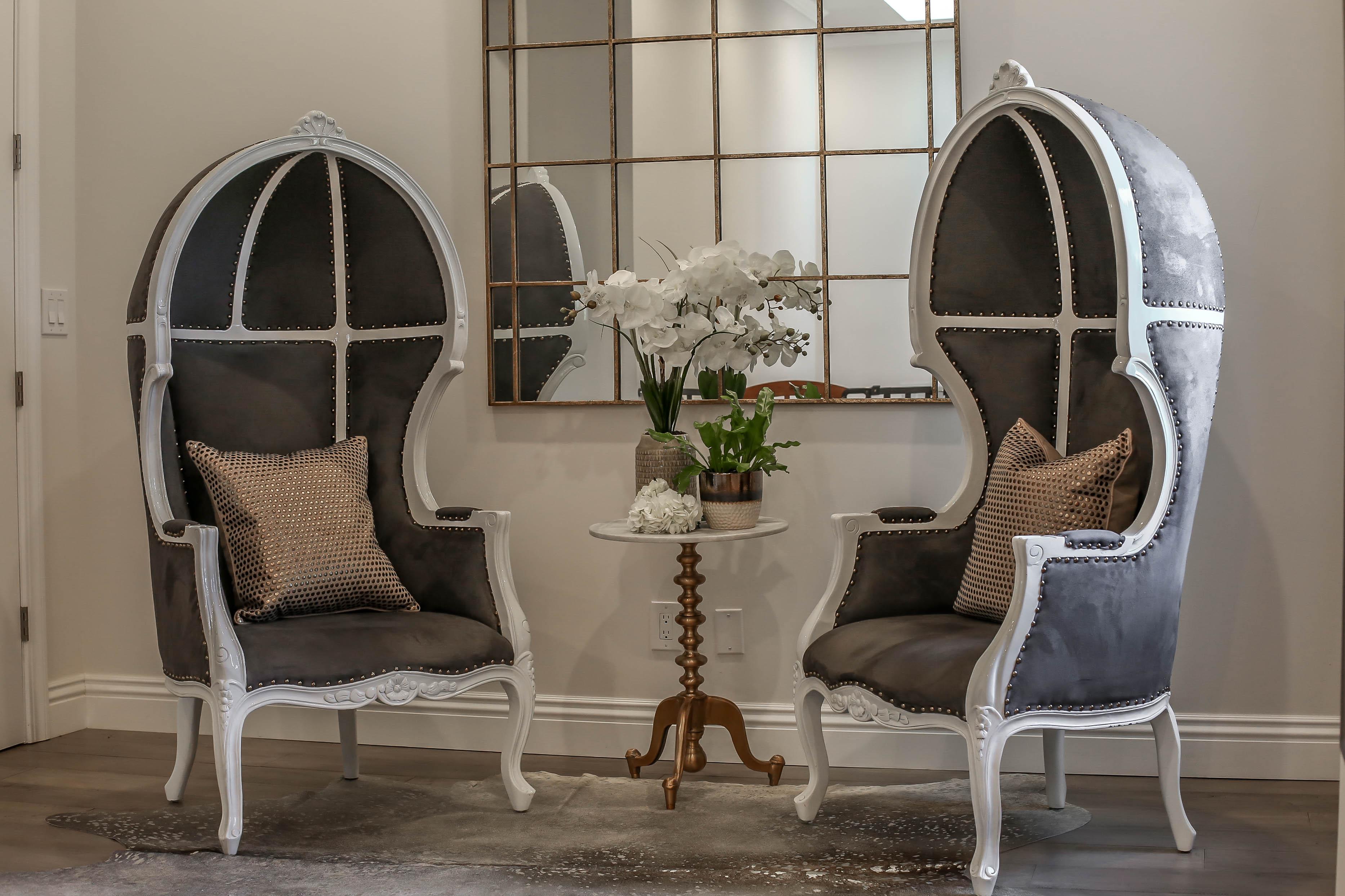 Casa Hacienda Heights Custom Residential Design – Loft Dome Chairs