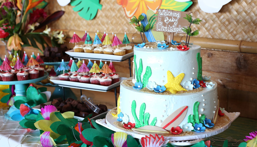 #JKID Event | Tropical Luau Baby Shower