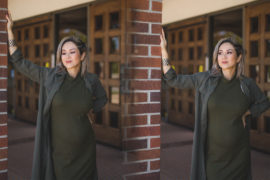Maternity Style | Military Green