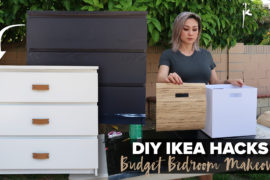 DIY Ikea Hacks | Budget Bedroom Makeover