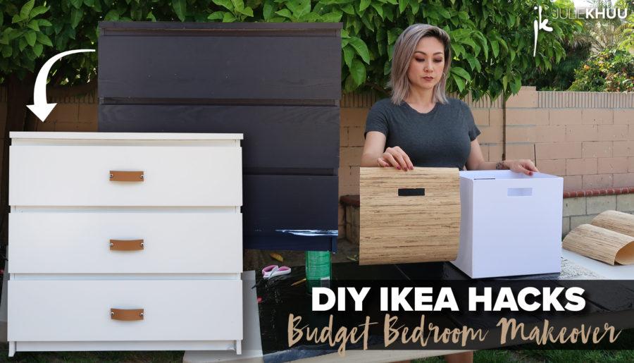 DIY Ikea Hacks | Budget Bedroom Makeover