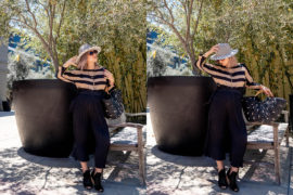 Maternity Style | Pleated Pants