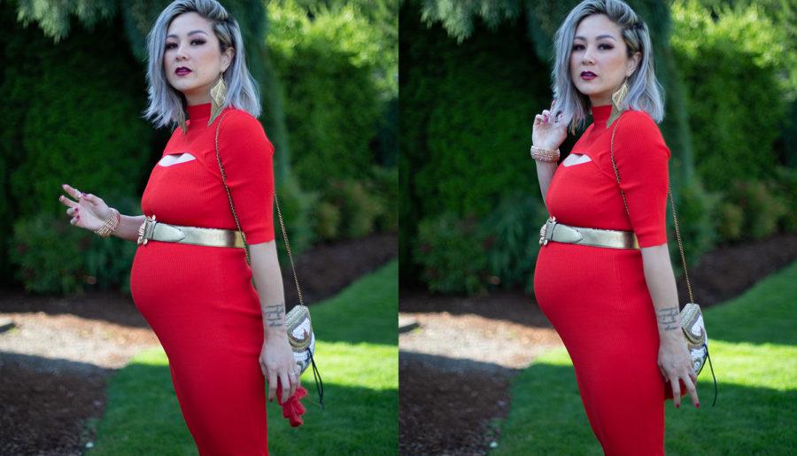 Maternity Wedding Wear | Red Hot