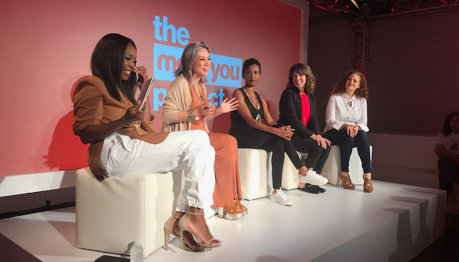 """Speaking at the #MaxxYouProject with T.J. Maxx 