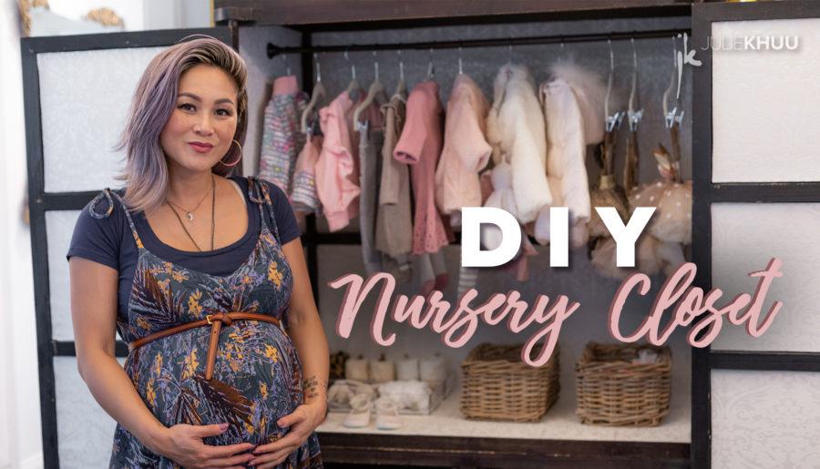 DIY Nursery Closet