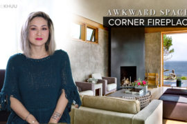 Awkward Space Solutions   The Corner Fireplace