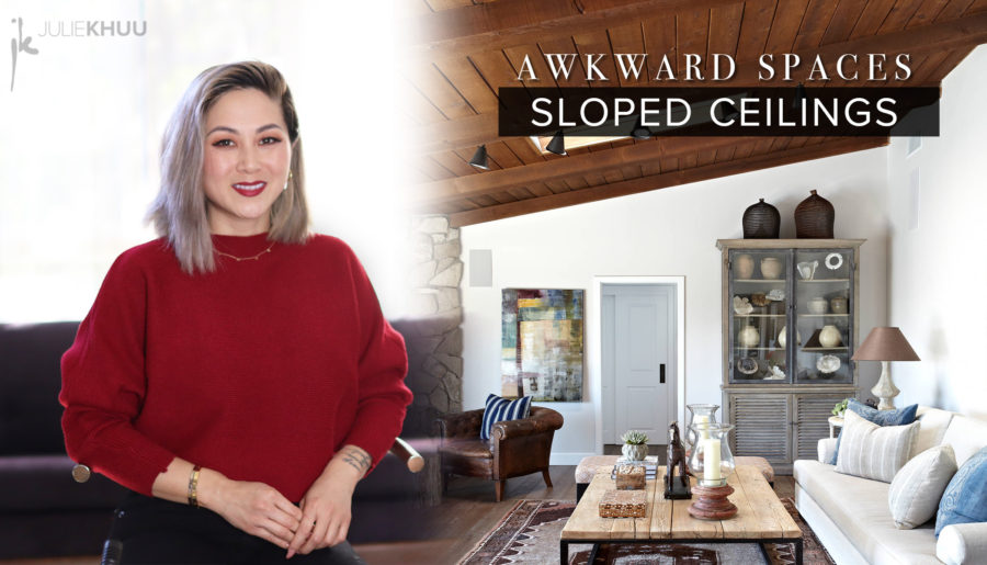 Awkward Space Solutions   Sloped Ceilings & Slanted Walls