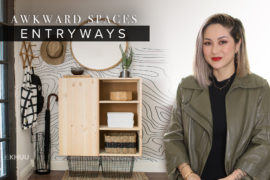 Awkward Space Solutions   Entryways