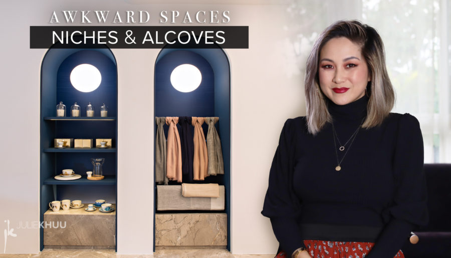 Awkward Space Solutions   Niches, Alcoves, Ledges, & Cutouts
