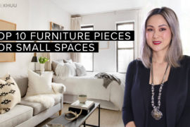 Small Space Series | Top 10 Pieces You Need to Furnish Your Small Apartment