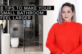 Small Space Series | 8 Designer Tips to Make Your Small Bathroom Look and Feel Larger