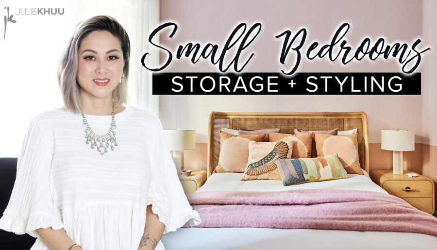 Small Space Series | 7 Clever Storage & Styling Hacks to Make the Most of Your Small Bedroom