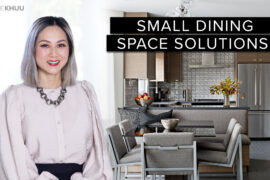 Small Space Series | 5 Common Small Dining Room Issues and How to Resolve Them