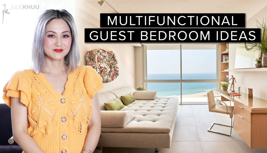 Small Space Series | 3 Creative Solutions for that Extra Bedroom In Your Home