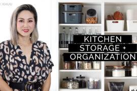 13 Kitchen Storage & Organization Ideas | Pro Tips to Organize Drawers, Cabinets, Pantry, Refrigerator, & More!