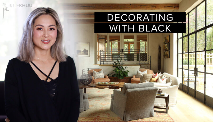 10 Modern Ways to Add Fresh Black Accents into Your Home