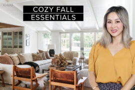 How to Turn Your Home into the Ultimate Sanctuary | Cozy Fall Essentials